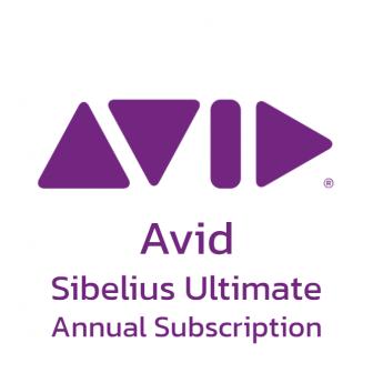 Avid Sibelius Ultimate - Annual Subscription โปรแกรมแต่งเพลง เรียบเรียงเพลง ใช้ในการสอนดนตรี รุ่นระดับสูง ลิขสิทธิ์รายปี ใช้งานได้บน PC โน้ตบุ๊ก iPad