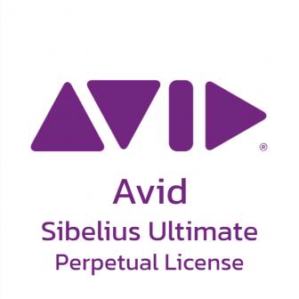 Avid Sibelius Ultimate - Perpetual License โปรแกรมแต่งเพลง เรียบเรียงเพลง ใช้ในการสอนดนตรี รุ่นระดับสูง ลิขสิทธิ์ซื้อขาด ใช้งานได้บน PC โน้ตบุ๊ก iPad